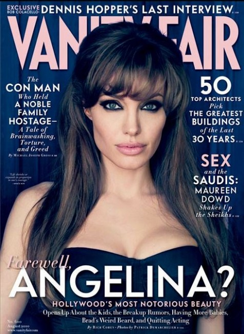 angelina jolie vanity fair photo shoot. Angelina Jolie