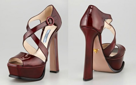 prada red sole shoes
